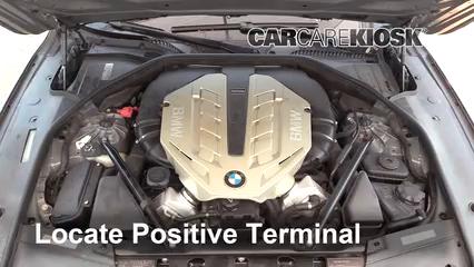 2010 BMW 750Li 4.4L V8 Turbo Batterie Début de saut