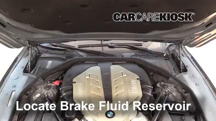 2010 BMW 750Li 4.4L V8 Turbo Brake Fluid