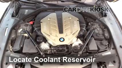 2010 BMW 750Li 4.4L V8 Turbo Coolant (Antifreeze)