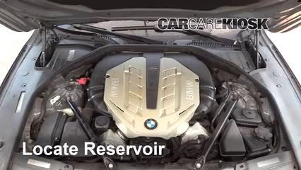 2010 BMW 750Li 4.4L V8 Turbo Windshield Washer Fluid