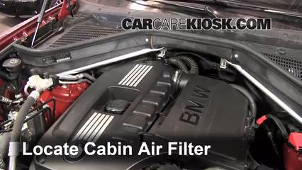 2010 BMW X6 xDrive35i 3.0L 6 Cyl. Turbo Filtre à air (intérieur)