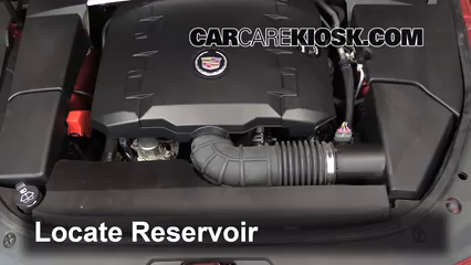 2010 Cadillac CTS 3.0L V6 Sedan Windshield Washer Fluid