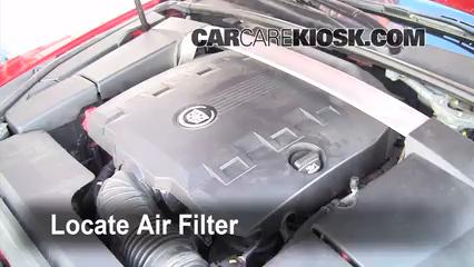 2010 Cadillac CTS Premium 3.6L V6 Wagon Air Filter (Cabin)