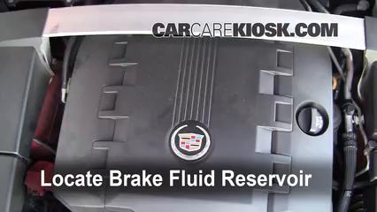 2010 Cadillac CTS Premium 3.6L V6 Wagon Brake Fluid