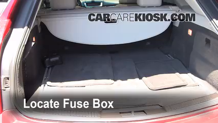 2010 Cadillac CTS Premium 3.6L V6 Wagon Fuse (Interior)