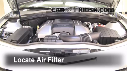 2010 Chevrolet Camaro LT 3.6L V6 Filtro de aire (motor)
