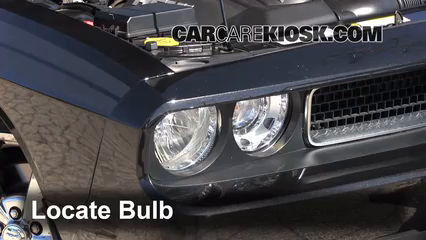 2010 Dodge Challenger RT 5.7L V8 Luces Faro delantero (reemplazar foco)