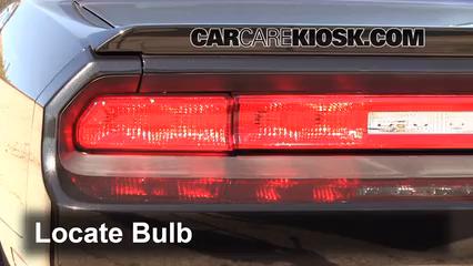 2010 Dodge Challenger RT 5.7L V8 Luces Luz trasera (reemplazar foco)