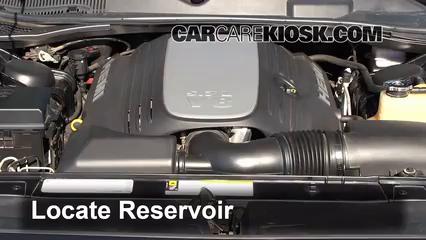 2010 Dodge Challenger RT 5.7L V8 Windshield Washer Fluid