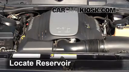 2010 Dodge Challenger RT 5.7L V8 Liquide essuie-glace