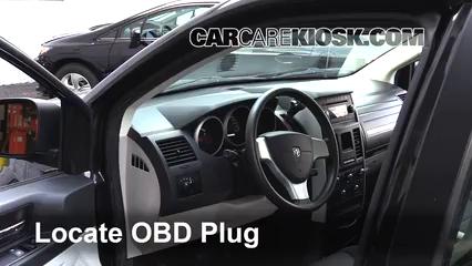 2010 Dodge Grand Caravan SE 3.3L V6 FlexFuel Lumière « Check engine » du moteur
