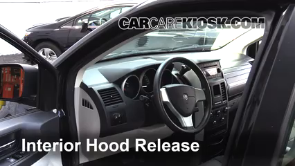 2010 Dodge Grand Caravan SE 3.3L V6 FlexFuel Capot