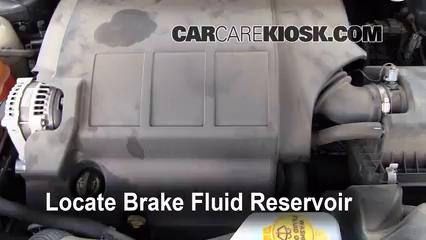 2010 Dodge Journey SXT 3.5L V6 Brake Fluid