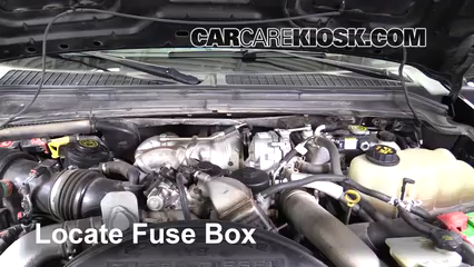 2010 Ford F-250 Super Duty XLT 6.4L V8 Turbo Diesel Standard Cab Pickup Fusible (motor)