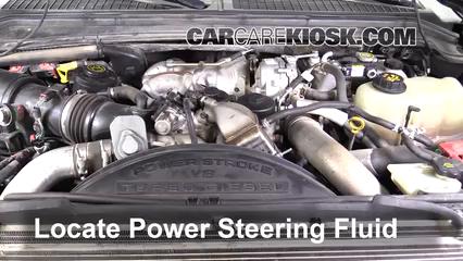 2010 Ford F-250 Super Duty XLT 6.4L V8 Turbo Diesel Standard Cab Pickup Líquido de dirección asistida