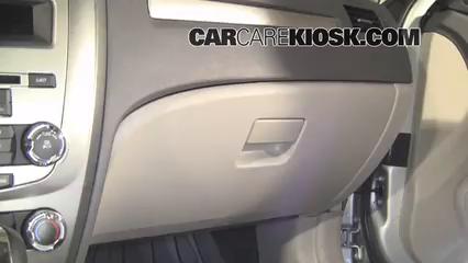 2010 Ford Fusion SE 2.5L 4 Cyl. Filtro de aire (interior)