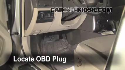 2010 Ford Fusion SE 2.5L 4 Cyl. Compruebe la luz del motor