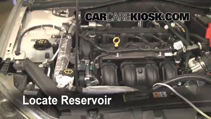 2010 Ford Fusion SE 2.5L 4 Cyl. Líquido limpiaparabrisas