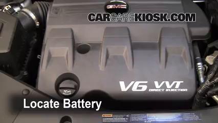 2010 GMC Terrain SLT 3.0L V6 Batterie