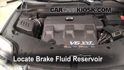 2010 GMC Terrain SLT 3.0L V6 Liquide de frein
