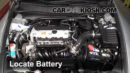 2010 Honda Accord EX-L 2.4L 4 Cyl. Coupe (2 Door) Battery