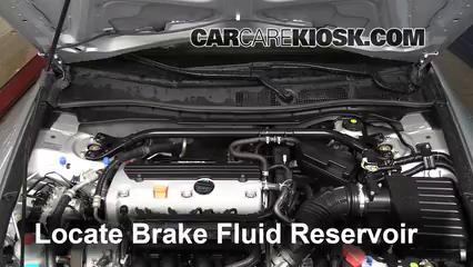 2010 Honda Accord EX-L 2.4L 4 Cyl. Coupe (2 Door) Brake Fluid