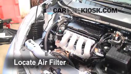 2010 Honda Fit Sport 1.5L 4 Cyl. Filtro de aire (motor)