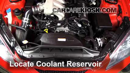 2010 Hyundai Genesis Coupe 3.8 3.8L V6 Antigel (Liquide de Refroidissement)