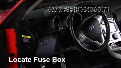 2010 Hyundai Genesis Coupe 3.8 3.8L V6 Fusible (intérieur)