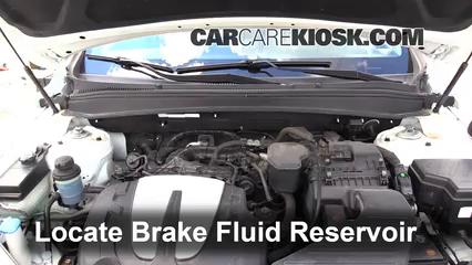 2010 Hyundai Santa Fe SE 3.5L V6 Liquide de frein