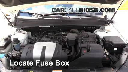 2010 Hyundai Santa Fe SE 3.5L V6 Fusible (moteur)