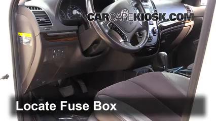 2010 Hyundai Santa Fe SE 3.5L V6 Fusible (intérieur)