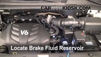 2010 Kia Sedona LX 3.8L V6 Líquido de frenos Agregar fluido