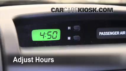 2010 Kia Sedona LX 3.8L V6 Clock