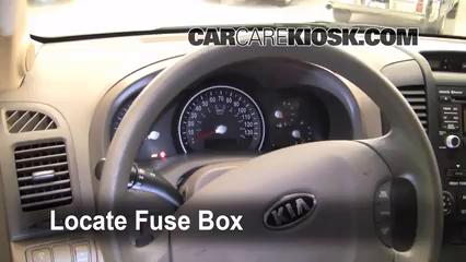 2010 Kia Sedona LX 3.8L V6 Fuse (Interior)