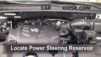 2010 Kia Sedona LX 3.8L V6 Power Steering Fluid