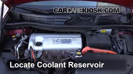 2010 Lexus HS250h Premium 2.4L 4 Cyl. Coolant (Antifreeze)