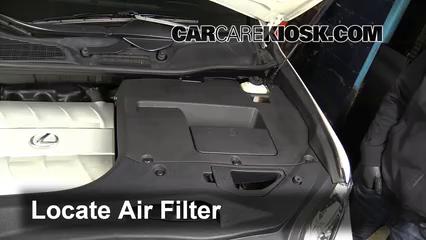 2010 Lexus RX350 3.5L V6 Air Filter (Engine)