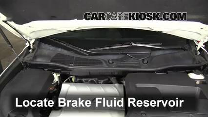 2010 Lexus RX350 3.5L V6 Brake Fluid