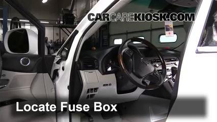 2010 Lexus RX350 3.5L V6 Fuse (Interior)