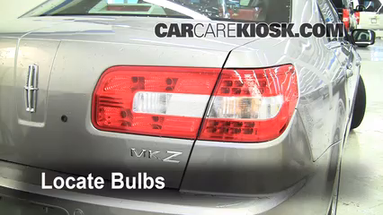 2010 Lincoln MKZ 3.5L V6 Lights Tail Light (replace bulb)