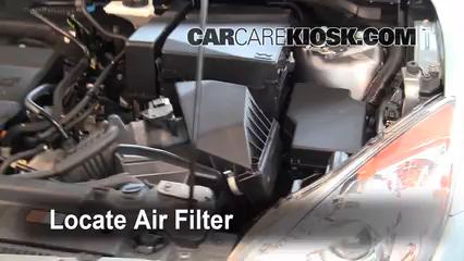 2010 Mazda 3 i 2.0L 4 Cyl. Filtro de aire (motor)