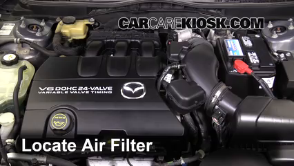 2010 Mazda 6 S 3.7L V6 Air Filter (Engine)