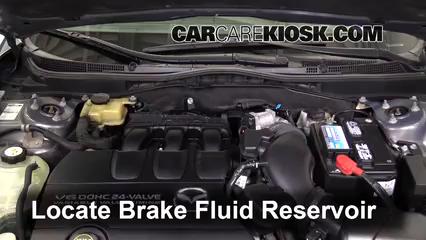 2010 Mazda 6 S 3.7L V6 Brake Fluid