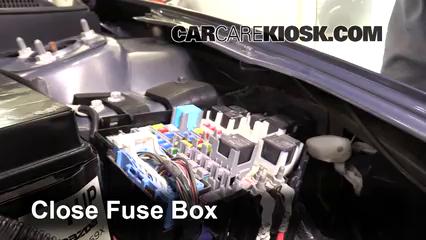 Replace A Fuse 2009 2013 Mazda 6 2010 Mazda 6 S 3 7l V6
