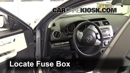 Interior Fuse Box Location 2009 2013 Mazda 6 2010 Mazda 6 S 3 7l V6