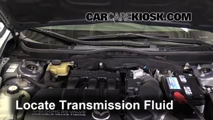 2010 Mazda 6 S 3.7L V6 Transmission Fluid