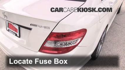 2010 Mercedes-Benz C63 AMG 6.3L V8 Fuse (Interior)