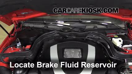 2010 Mercedes-Benz E350 3.5L V6 Coupe (2 Door) Brake Fluid