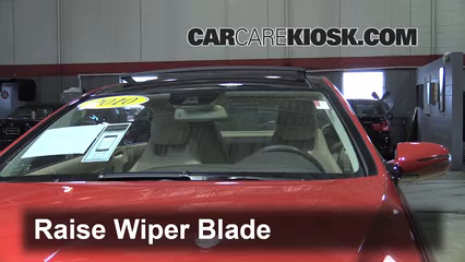 2010 Mercedes-Benz E350 3.5L V6 Coupe (2 Door) Windshield Wiper Blade (Front) Replace Wiper Blades